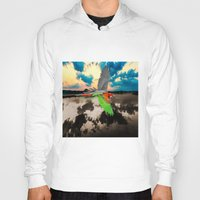 parrot Hoodies featuring Parrot by Cs025