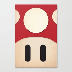 Minimal Powerup Canvas Print