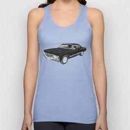 '67 Chevy Impala (w/o background) Unisex Tank Top