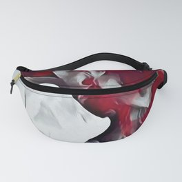 Red smoke Fanny Pack