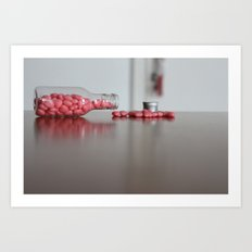 Heart Drops Art Print