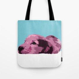 """Pink Lady"" ~ Dachshund, Weiner Dog, Doxie, everywhere! Tote Bag"