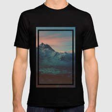 Garden Mens Fitted Tee LARGE Black