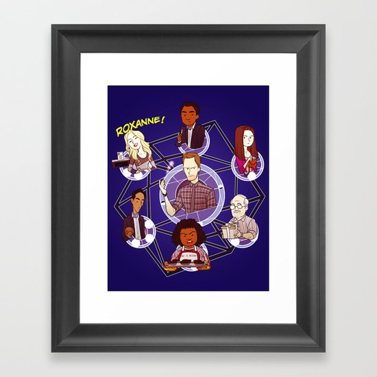 Remedial Chaos Theory Framed Art Print