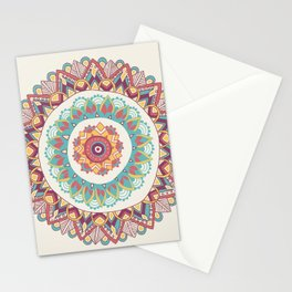 Midsummer Mandala Stationery Cards