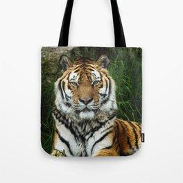 Majestic Fixed Tiger Stare Tote Bag