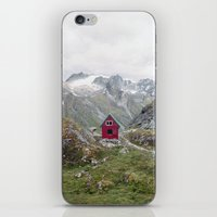 mint iPhone & iPod Skins featuring Mint Hut by Kevin Russ