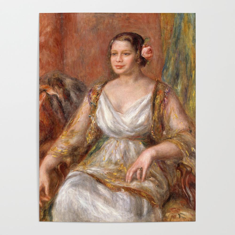 Tilla Durieux - Auguste Renoir Poster by igordron