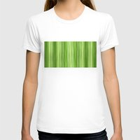 lime green T-shirts featuring Ambient 3 in Lime Green by Bruce Stanfield