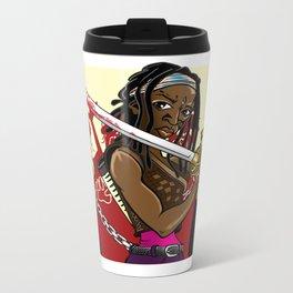 The Walking Dead Series - Michonne Metal Travel Mug