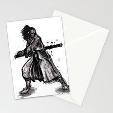 Bloody Samurai Stationery Cards