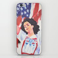 the national iPhone & iPod Skins featuring National Anthem by MariaBertosh