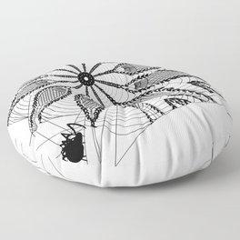Boho Webs Floor Pillow