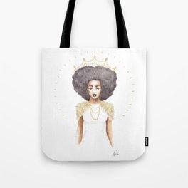 The Great Queen Violetta Tote Bag