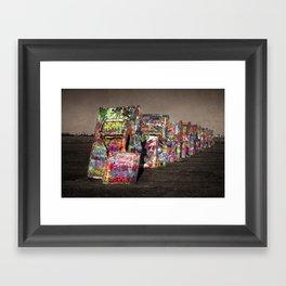 Caddy Tex Framed Art Print