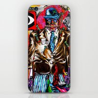 carnage iPhone & iPod Skins featuring Carnage by Alec Goss