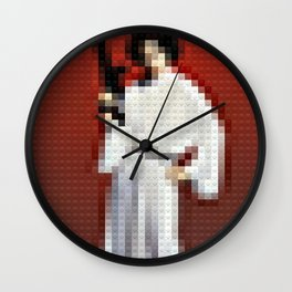 Legobrick Princess Leia Wall Clock