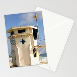 Laguna Beach Lifeguard Tower Stationery Cards