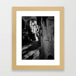 soliloquy expenditure excercise kickoff Framed Art Print