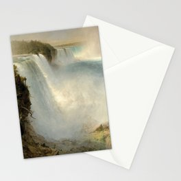 Frederic Edwin Church - Niagara Falls Stationery Cards