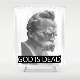 GOD IS DEAD Shower Curtain