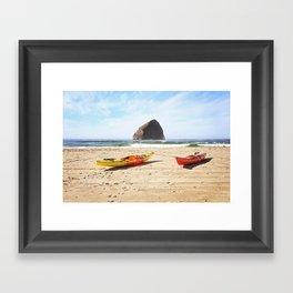 ocean adventure Framed Art Print