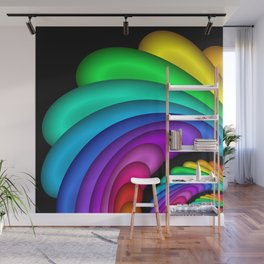 fractal and colorful -4- Wall Mural