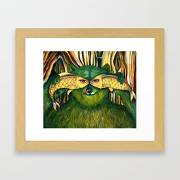 Bear | Disguise  Framed Art Print