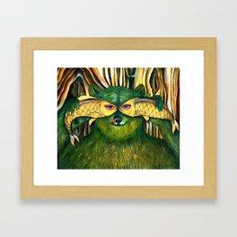 Bear | Disguise  Framed Art Print