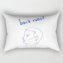 Back Rolls? Rectangular Pillow