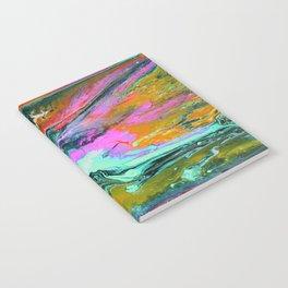 Abstract ORANGE Notebook