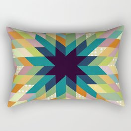 Winter Lights Rectangular Pillow