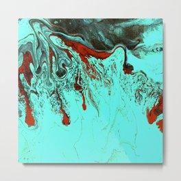 Patina Abstract I Metal Print