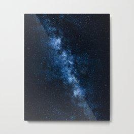 Cobalt Milky Way Metal Print