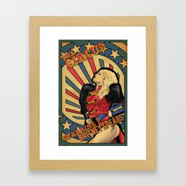 "Britney Spears ""Circus"" Framed Art Print"
