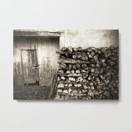 piled up Metal Print
