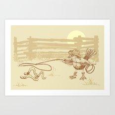 Cowbird Art Print