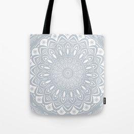Cool Gray Mandala Simplistic Bold Minimal Minimalistic Tote Bag