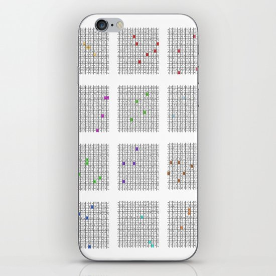 The -endless- Calendar for Germany iPhone & iPod Skin