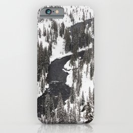 Yellowstone National Park - Lewis River iPhone Case
