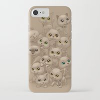 kittens iPhone & iPod Cases featuring Kittens by Antracit