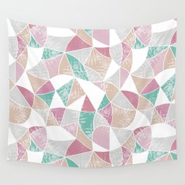 Abstract graphic pattern. Fun triangles. Wall Tapestry