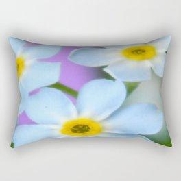 Floral Beauty #6 Rectangular Pillow