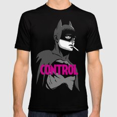 Control Black & White Edition MEDIUM Mens Fitted Tee Black