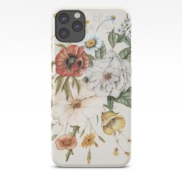 Wildflower Bouquet iPhone Case