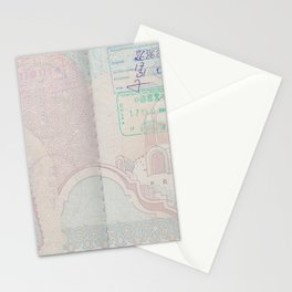 Passport Stationery Cards