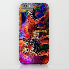 Psychedelic Tigers Slim Case iPhone 6