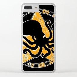 Cephalopod God Clear iPhone Case