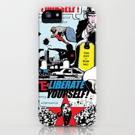 Kill Yourself vs Liberate Yourself color iPhone Case
