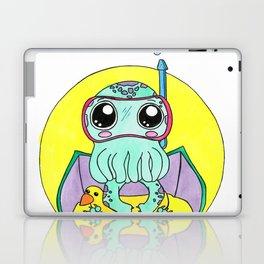 Just keep swimming, Cute-thulu! Laptop & iPad Skin
